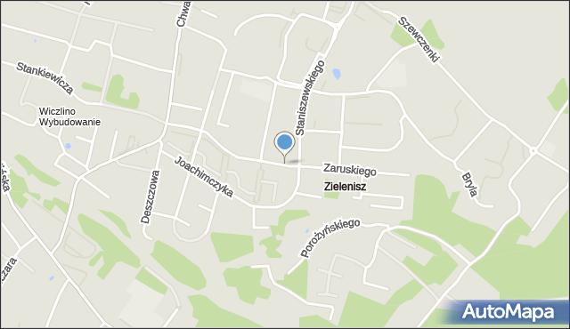 Gdynia, Zaruskiego Mariusza, gen., mapa Gdyni