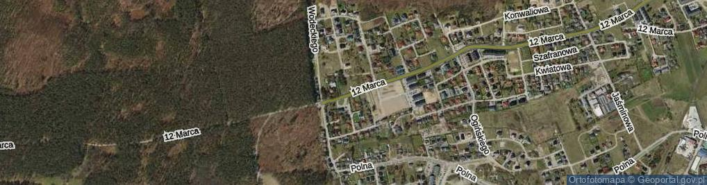 Zdjęcie satelitarne 12 Marca ul.