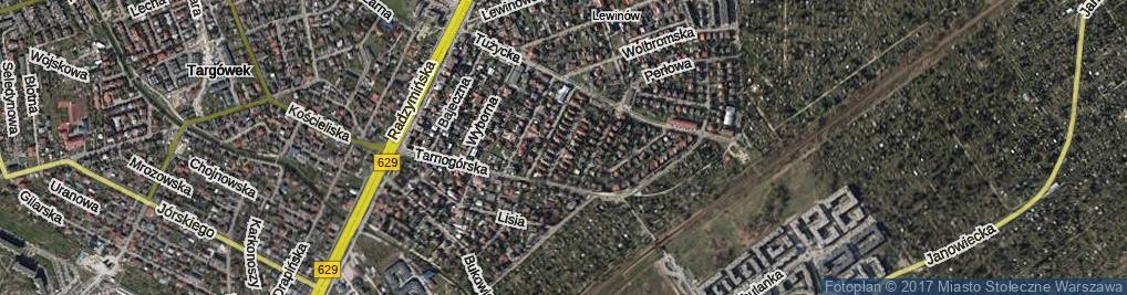Zdjęcie satelitarne Agatowa ul.
