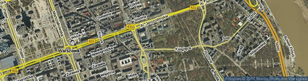 Zdjęcie satelitarne Aleja Lorentza Stanisława al.