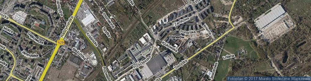 Zdjęcie satelitarne Bukowiecka ul.