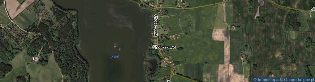 Zdjęcie satelitarne Choszczewo ul.