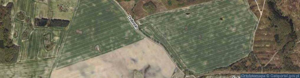 Zdjęcie satelitarne Dobrocin ul.