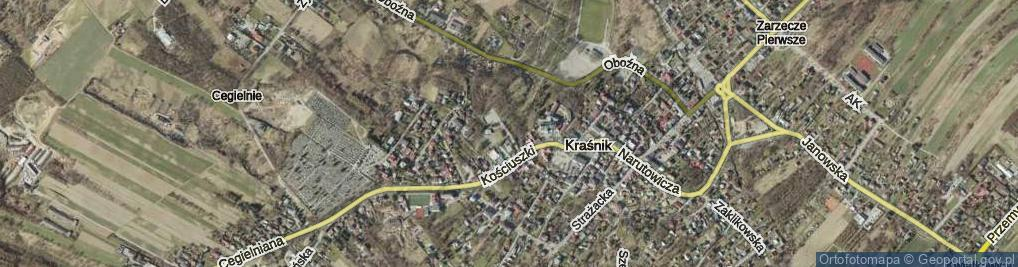 Zdjęcie satelitarne Festiwalowa ul.