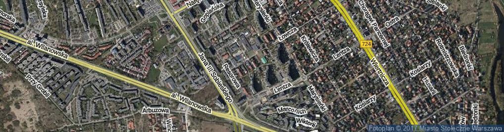 Zdjęcie satelitarne Gubinowska ul.
