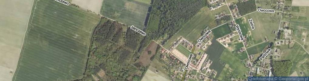 Zdjęcie satelitarne Janczewo ul.