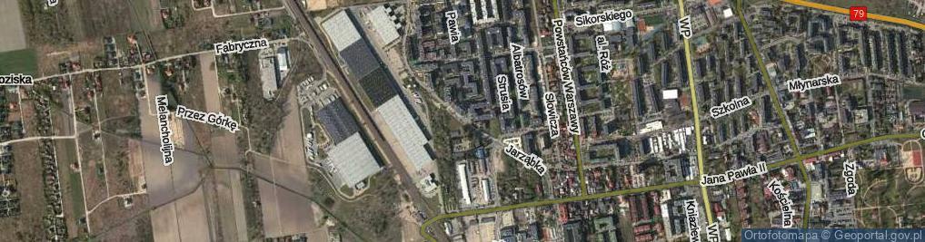 Zdjęcie satelitarne Jarząbka Kazimierza ul.