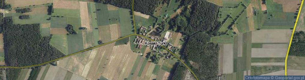 Zdjęcie satelitarne Kosaki-Turki ul.