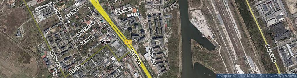 Zdjęcie satelitarne Kowalczyka Anastazego ul.