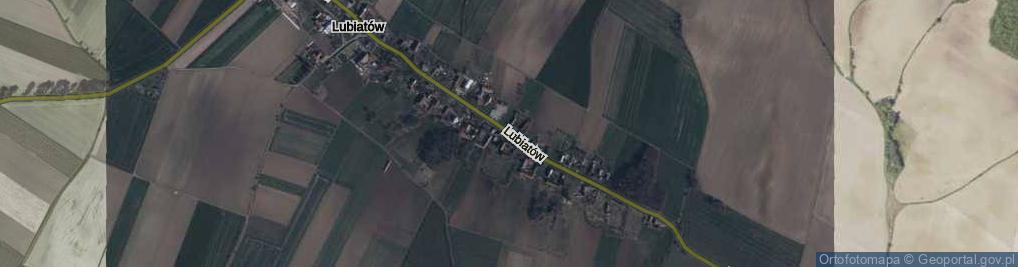 Zdjęcie satelitarne Lubiatów ul.