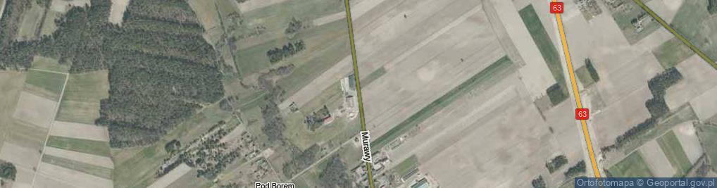 Zdjęcie satelitarne Murawy ul.