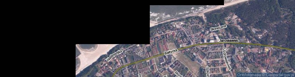 Zdjęcie satelitarne Nadmorska ul.
