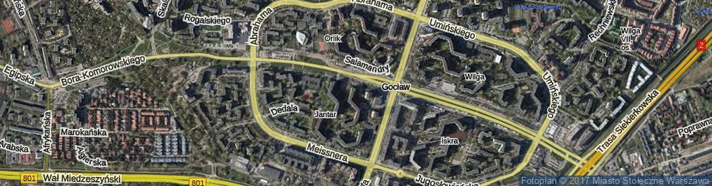 Zdjęcie satelitarne Nagórskiego Jana ul.