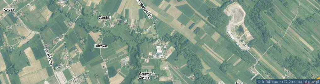 Zdjęcie satelitarne Osiedle Baranciak os.
