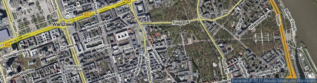 Zdjęcie satelitarne Pasaż Tyrmanda Leopolda ul.