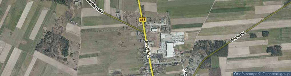 Zdjęcie satelitarne Przytulska ul.