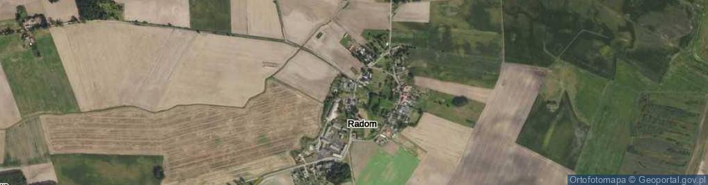 Zdjęcie satelitarne Radom ul.