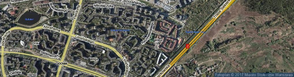 Zdjęcie satelitarne Rechniewskiego Tadeusza ul.