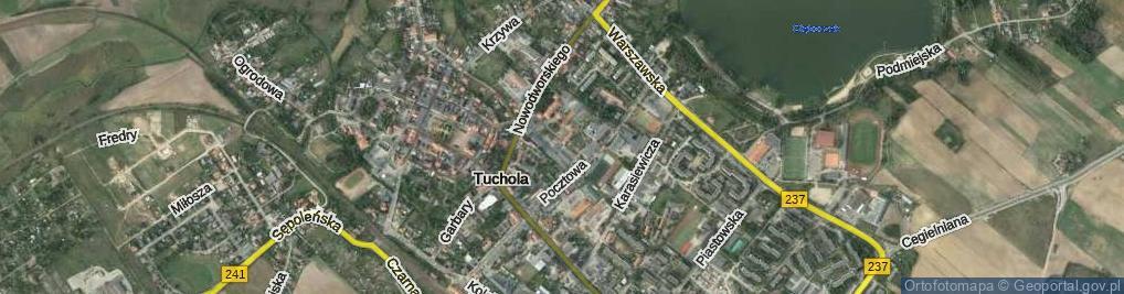 Zdjęcie satelitarne Saganowskiego Stanisława ul.