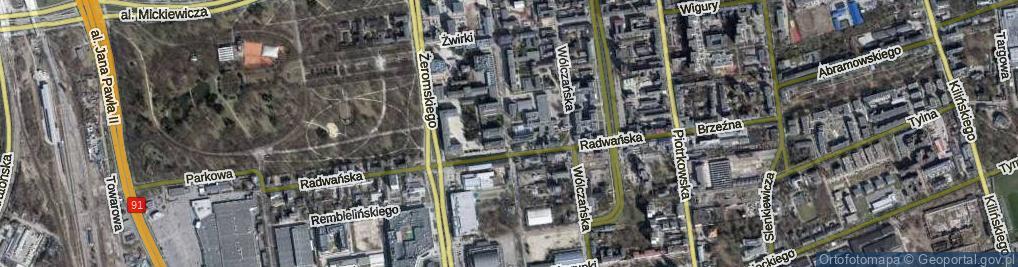 Zdjęcie satelitarne Stefanowskiego Bohdana, prof. ul.