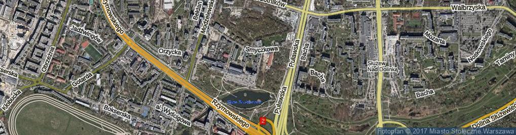Zdjęcie satelitarne Sulimy ul.