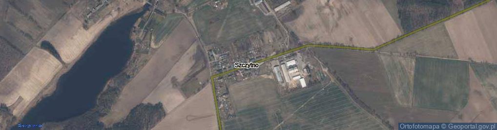 Zdjęcie satelitarne Szczytno ul.