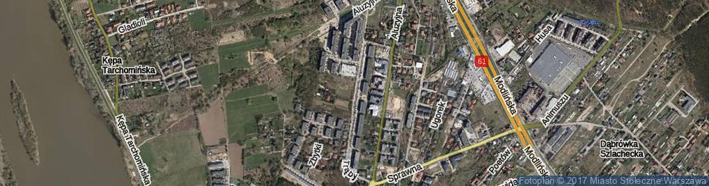 Zdjęcie satelitarne Trąby Mikołaja ul.