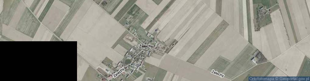 Zdjęcie satelitarne Żelechy ul.