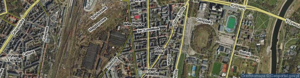 Zdjęcie satelitarne Żupańskiego Jana ul.