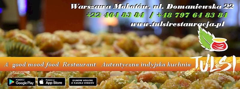 Tulsi Restauracja Domaniewska 22 Warszawa 02 672 Indyjska